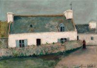 Maurice Utrillo (French, 1883–1955), Ferme de l'Île d'Ouessant (Finistère) (1910–1911)