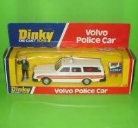 DINKY TOYS - VOLVO POLICE CAR