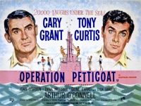OPERATION PETTICOAT-1959 POSTER - CARY GRANT & TONY CURTIS