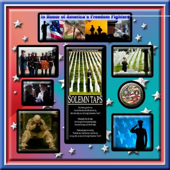 "Weekly Theme: ""Honoring the Military"".... Heroes All........."