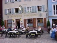 Another Freiburg Sidewalk Cafe