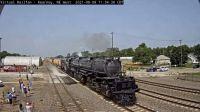 "steam engine ""UP-4014"" passing Kearney,NE/USA west camera 112-pc"
