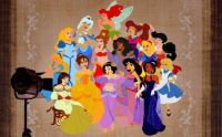 Disney Ladies all mixed up
