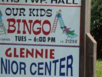Bingo night in Glennie MI