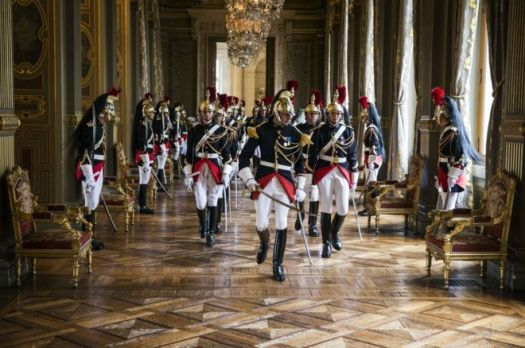 French Republican Guards