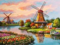 windmill art