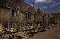 Film Set, Castle Combe