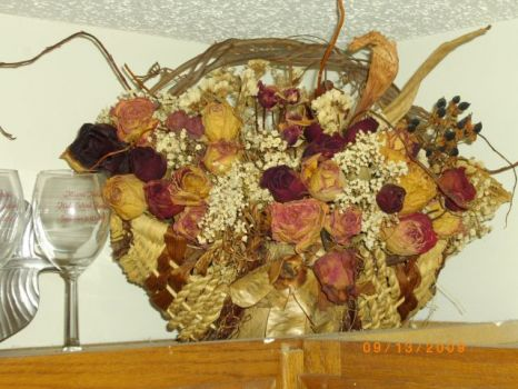 Basket made from Hawks Cay findings