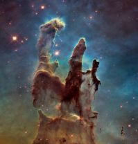Pillars of Creation, 2014, full resolution and denoised.