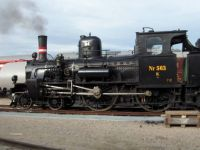 damplokomotiv litra K 563 DSB Danmark