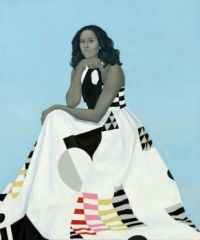 Michelle Obama - Official Portrait National Portrait Gallery