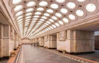 Elektrozavodskaya, Moscow metro, Russia