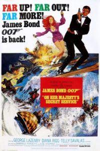 JAMES BOND 007--ON HER MAJESTY'S SECRET SERVICE !