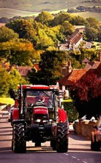 From the fields to Glynde Farm