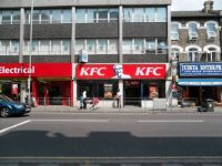 KFC on Cranbrook Road in Ilford, UK