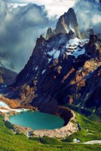 Mount Fitz Roy and Laguna Torre, in Patagonia Argentina