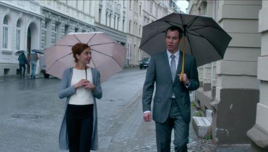 Georgina Verbaan and Jeroen van Koningsbrugge in the movie De Surprise