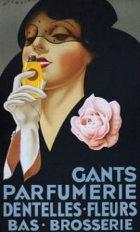 Vintage  Gants Parfumerie