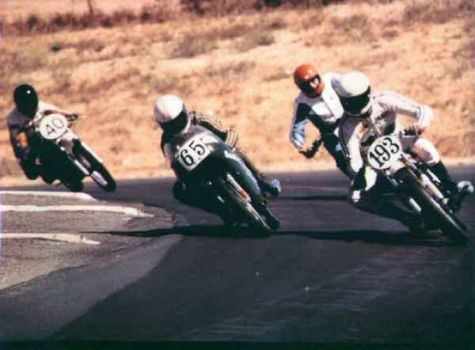 Sears point. 1978,100cc Kawasaki
