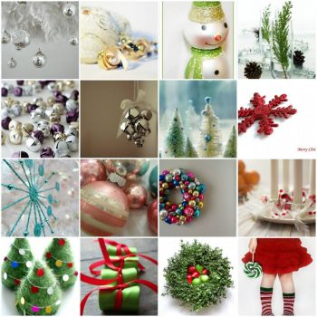 christmas on white by Fun Monitor on flickr
