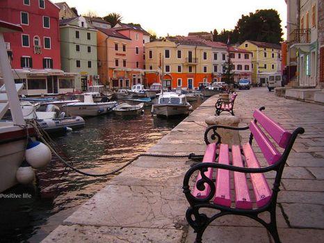 Losinj harbour, Adriatic Coast, Croatia