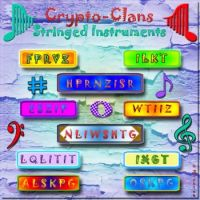 Crypto Clans - Stringed Instruments - by Bookish