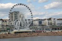 Ferris wheel, Brighton Beach, England
