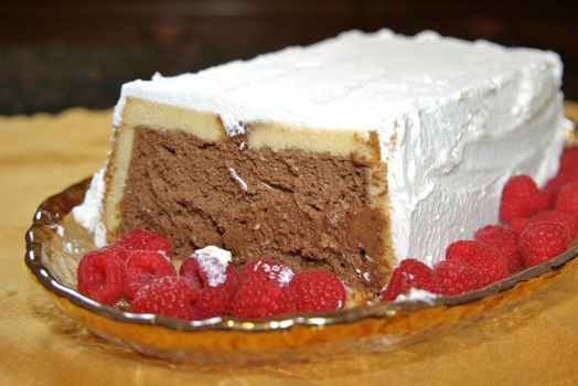 Rum and Coffee Chocolate Mousse Cake