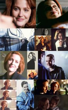 Scully smiles!