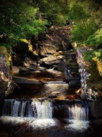 Bracklinn Falls, Scotland, UK