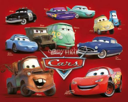 Cars Collage...