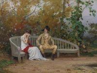 Frederick Hendrik Kaemmerer (Dutch, 1839–1902), A Poignant Parting
