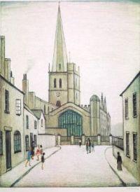 street and church
