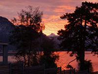 Sunrise in Weggis Lake Luzern