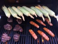 BBQ at Fork Rain