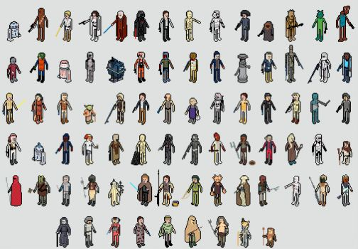 Starwars pixels (harder)