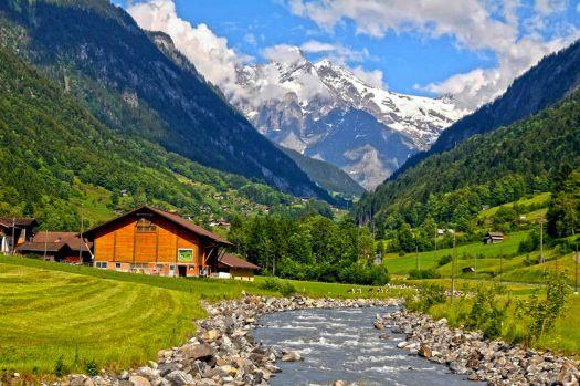 Швейцария — подробная информация о стране