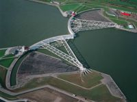 The Maeslant Barrier - A storm surge barrier in the Netherlands