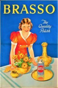 Themes Vintage ads - Brasso