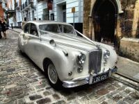 HDR of a Jaguar Wedding Car - 5th Sep 2009