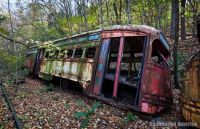 Trolley Graveyard 8