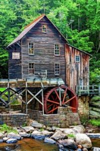 Glade Creek Grist Mill, WV