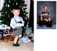 My son.  My nephew.  20 years apart.