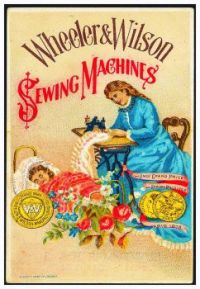 Vintage ad - Wheeler & Wilson Sewing Machines