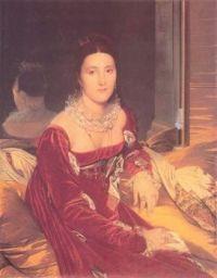 Jean Auguste Dominique Ingres's Portrait of Madame de Senonnes