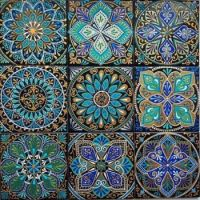 Beautiful Tiles in Blues