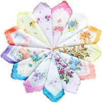 Remember, Grandma Always Had A Floral Hankie Entwined Around Her Fingers