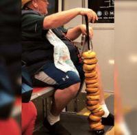 People on the subway/metro #2