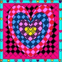 Checkered Heart
