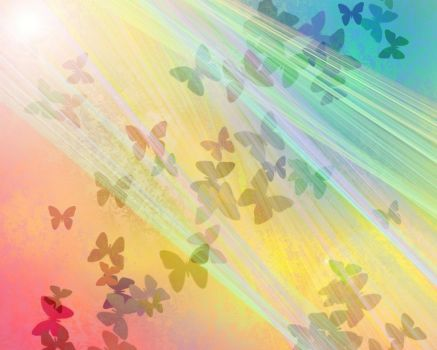 Butterflies Rainbow